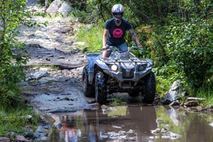 Backbone Adventures :: ATV's, UTV's, Jeeps, dirt bikes, and Razors for adults and kids. Experience the mountains of Estes Park and all its splendor. A unique adventure and great family fun!