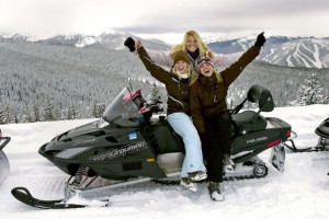 Snowmobile Tours & Rentals