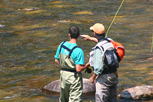 Rocky Mountain Adventures - guided fishing