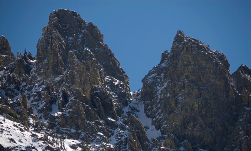 Nokhu Crags in the Never Summer Wilderness