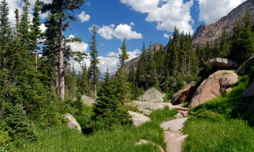 Rocky Mountain National Park Colorado Hiking Trail