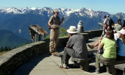 Ranger Program on Hurricane Ridge